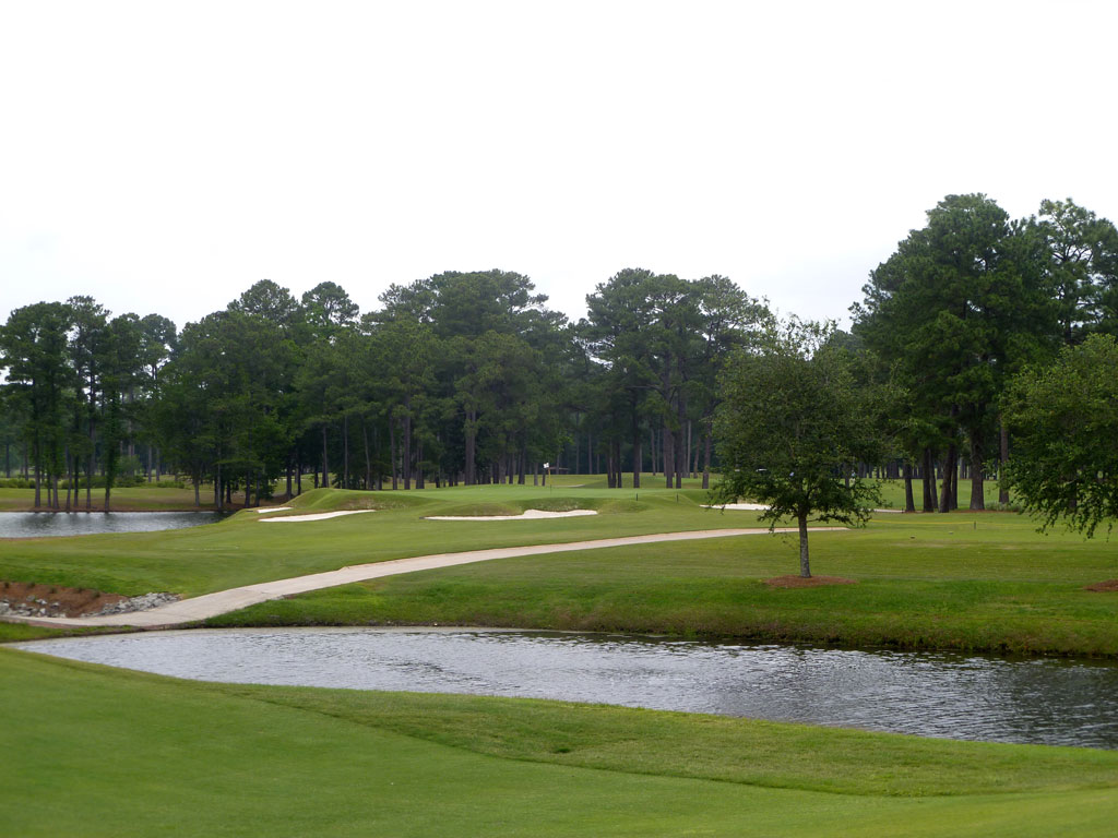 14th Hole at Cape Fear Country Club (153 Yard Par 3)