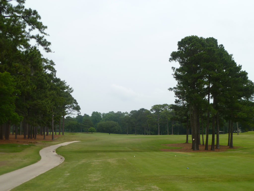 15th Hole at Cape Fear Country Club (487 Yard Par 4)