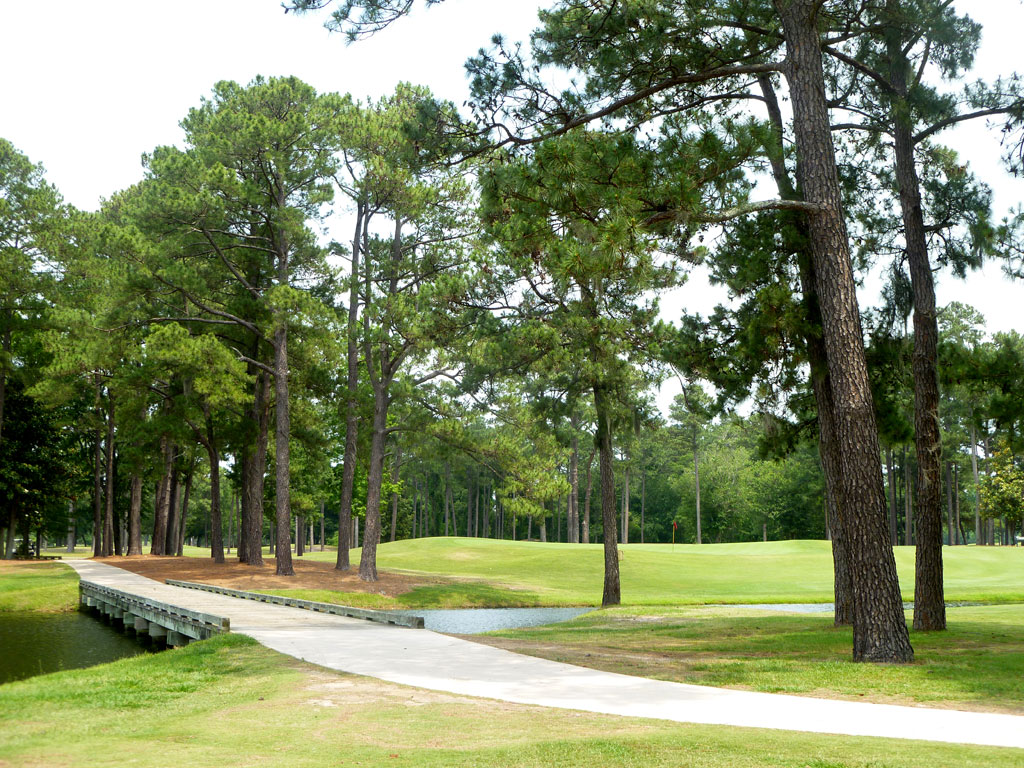 4th Hole at Cape Fear Country Club (460 Yard Par 4)