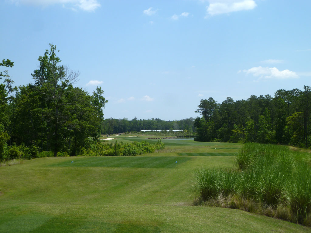 17th Hole at Cape Fear National (442 Yard Par 4)