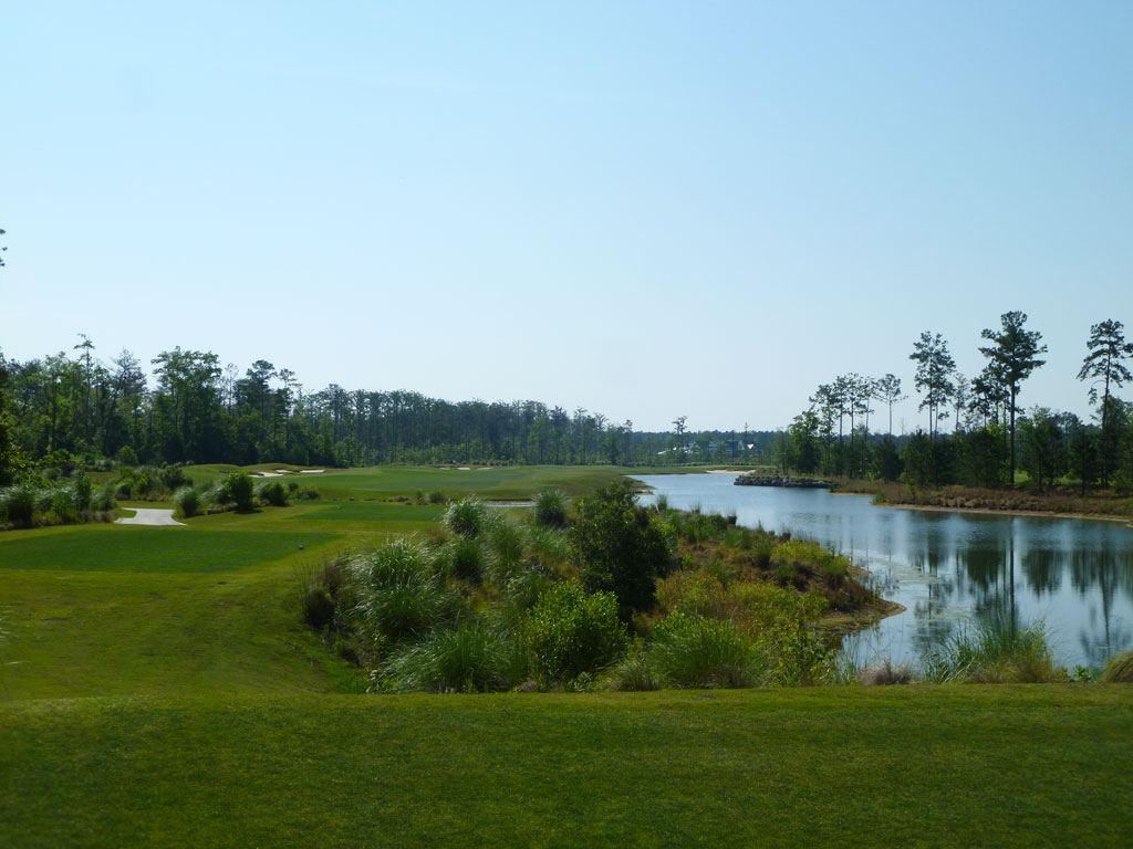 8th Hole at Cape Fear National (576 Yard Par 5)