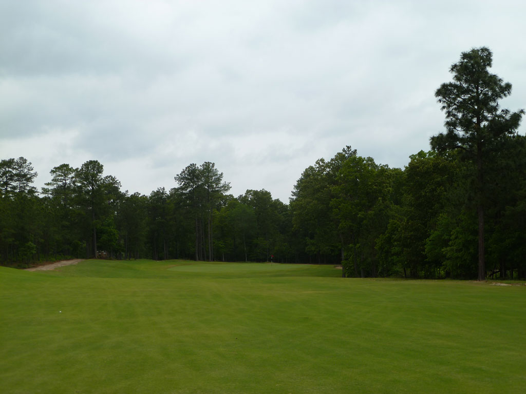 13th Hole at Dormie Club (506 Yard Par 4)