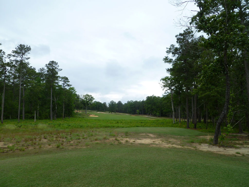 17th Hole at Dormie Club (506 Yard Par 5)
