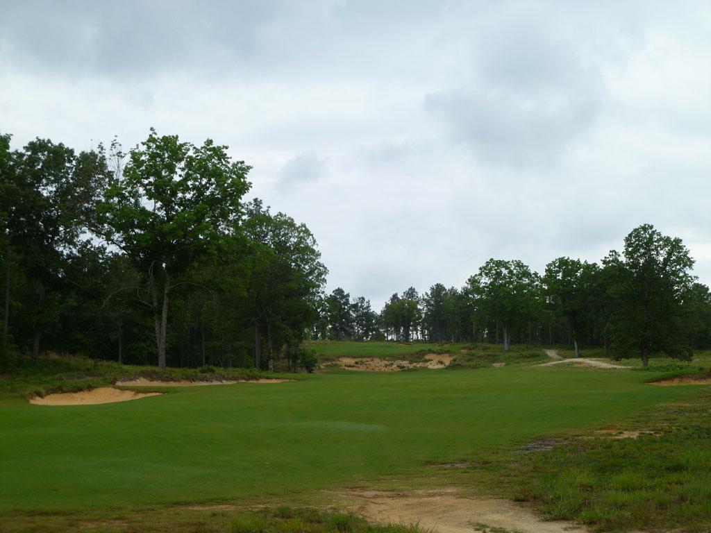 17th Hole at Dormie Club (506 Yard Par 5)