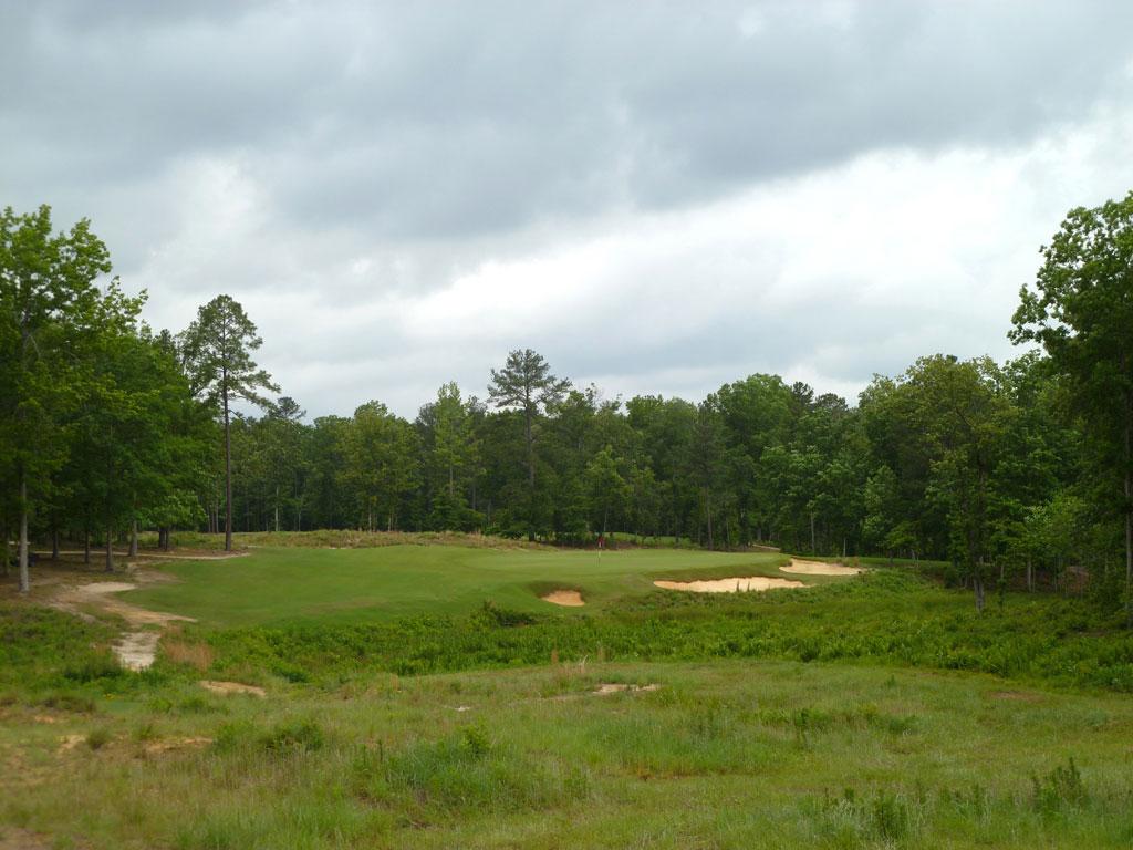 7th Hole at Dormie Club (243 Yard Par 3)