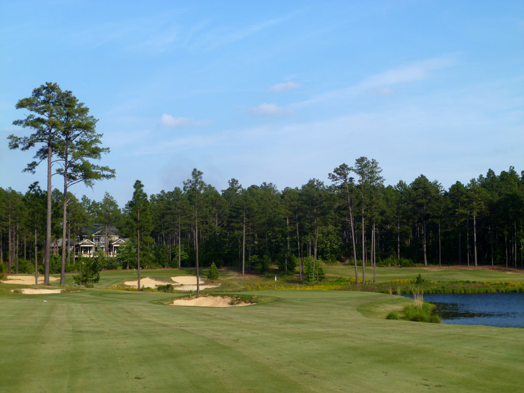 15th Hole at Forest Creek Golf Club (North) (432 Yard Par 4)