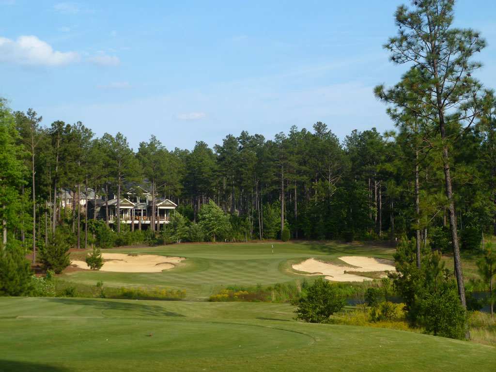16th Hole at Forest Creek Golf Club (North) (212 Yard Par 3)