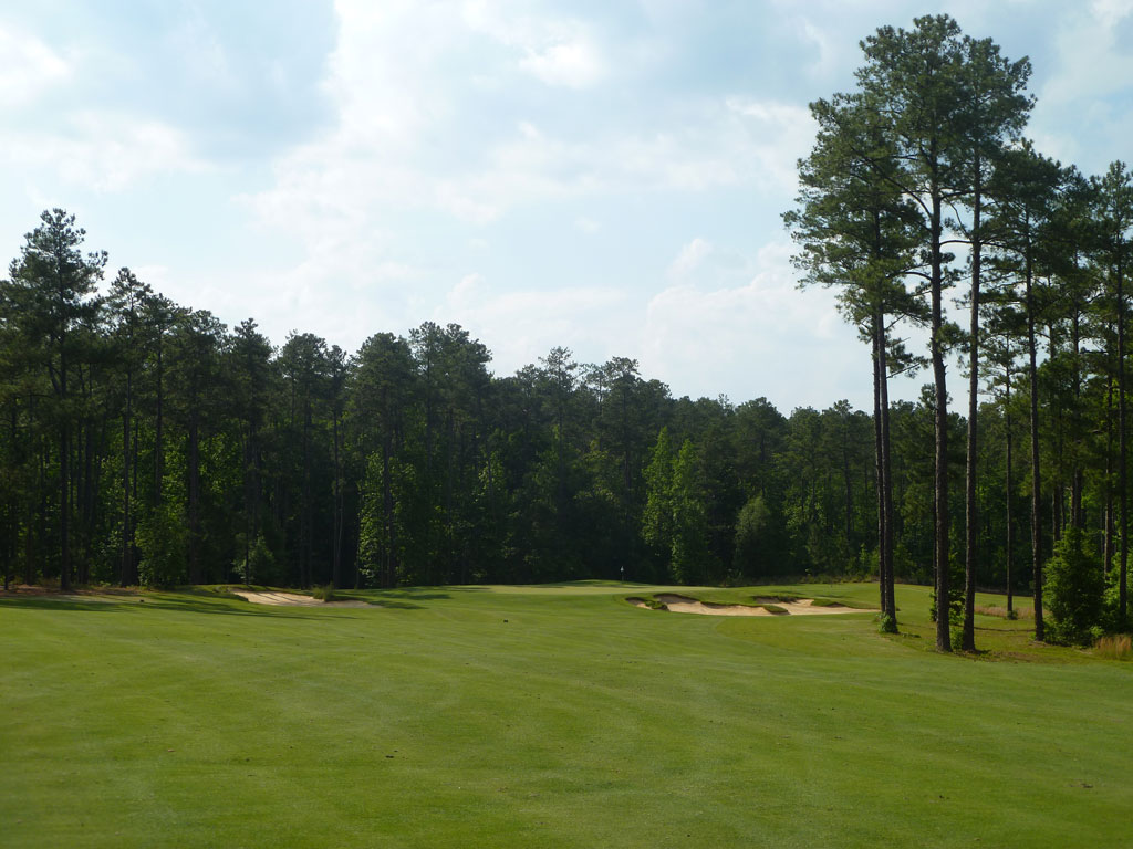 7th Hole at Forest Creek Golf Club (North) (455 Yard Par 4)