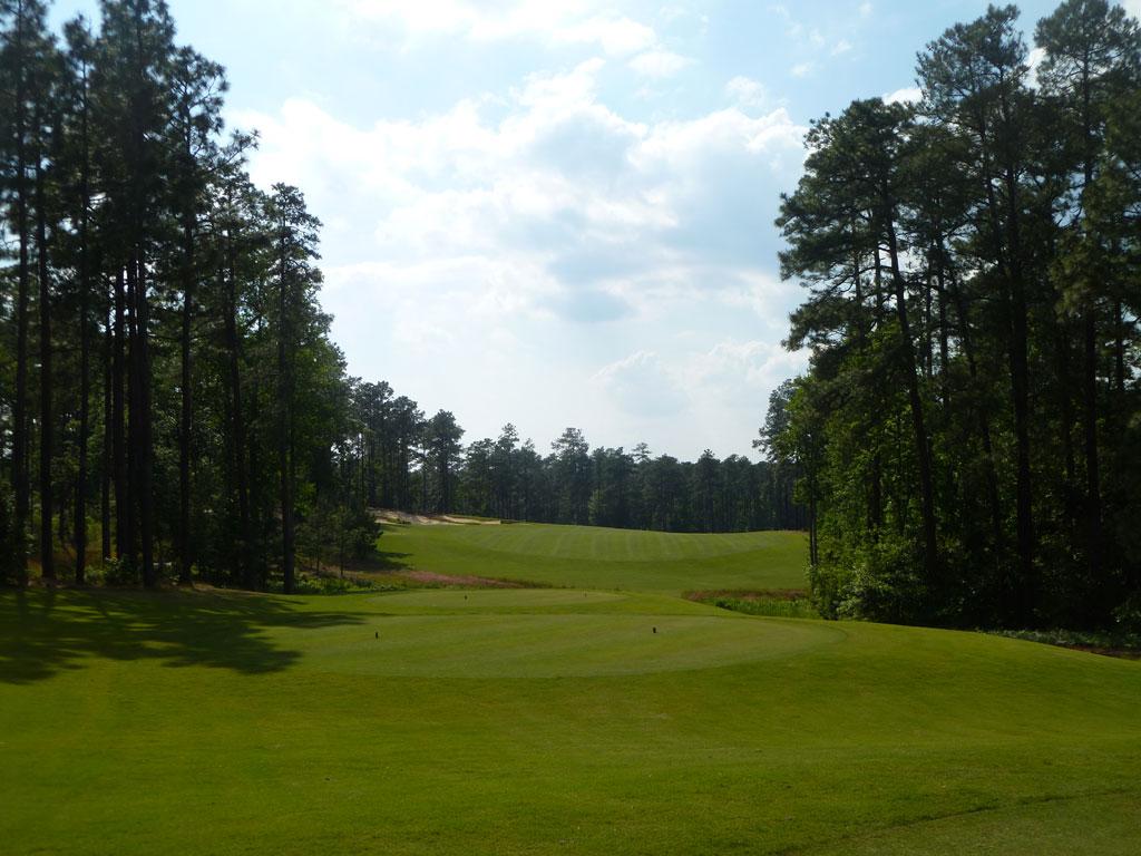 7th Hole at Forest Creek Golf Club (North) (455 Yard Par 4)