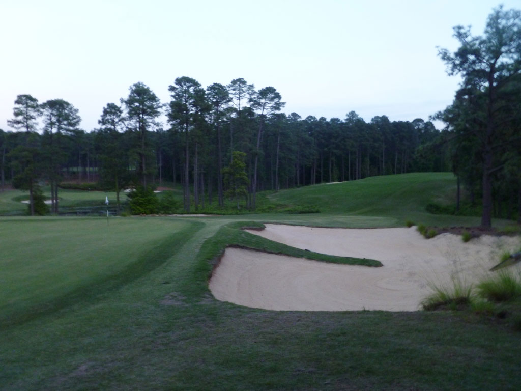 16th Hole at Forest Creek (South) (419 Yard Par 4)
