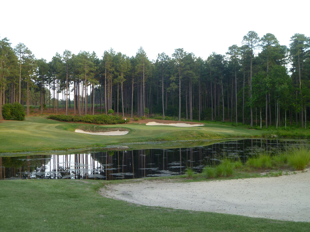 17th Hole at Forest Creek (South) (195 Yard Par 3)