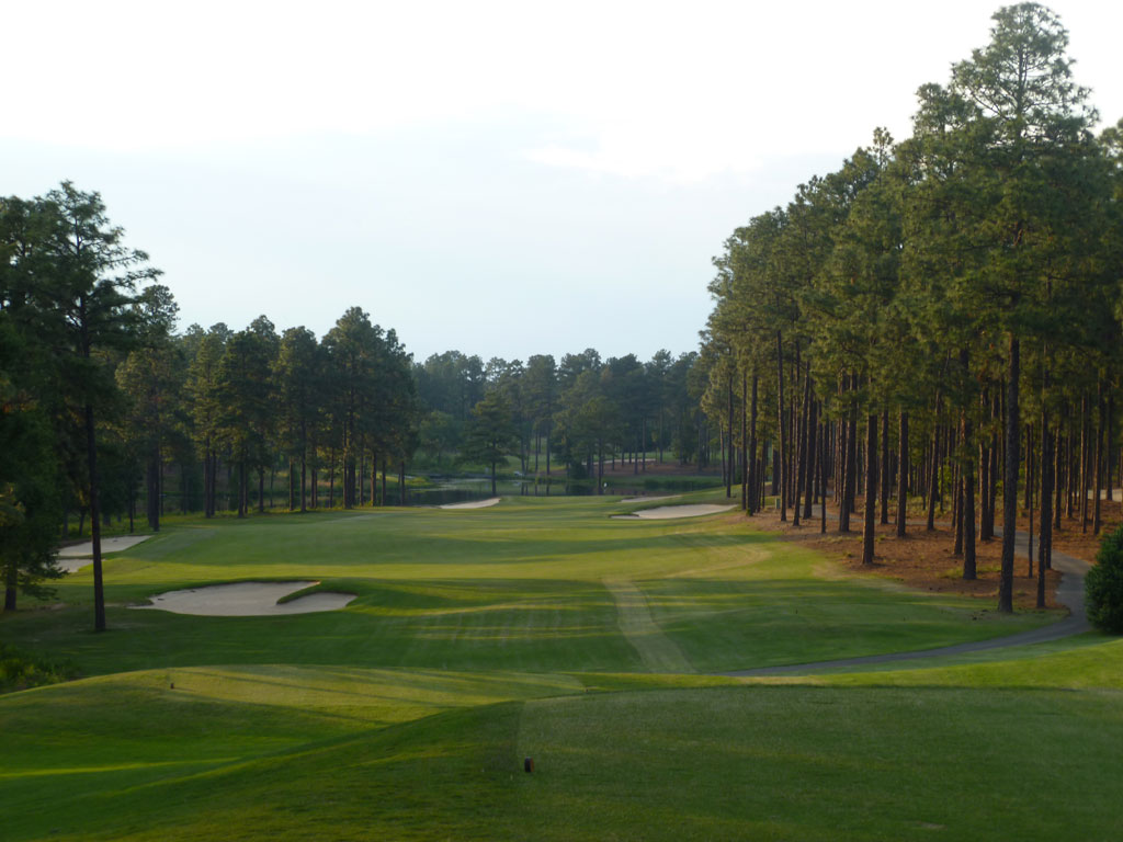 18th Hole at Forest Creek (South) (458 Yard Par 4)