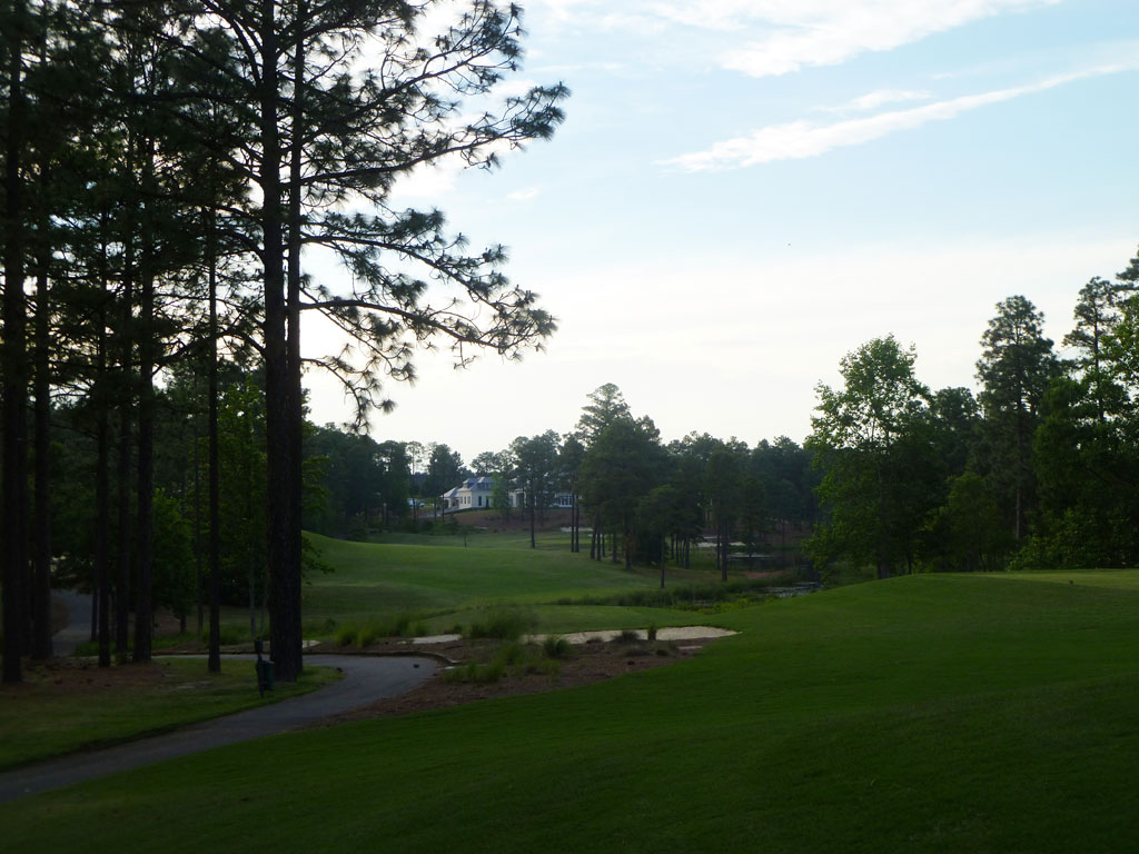 9th Hole at Forest Creek Golf Club (South) (429 Yard Par 4)