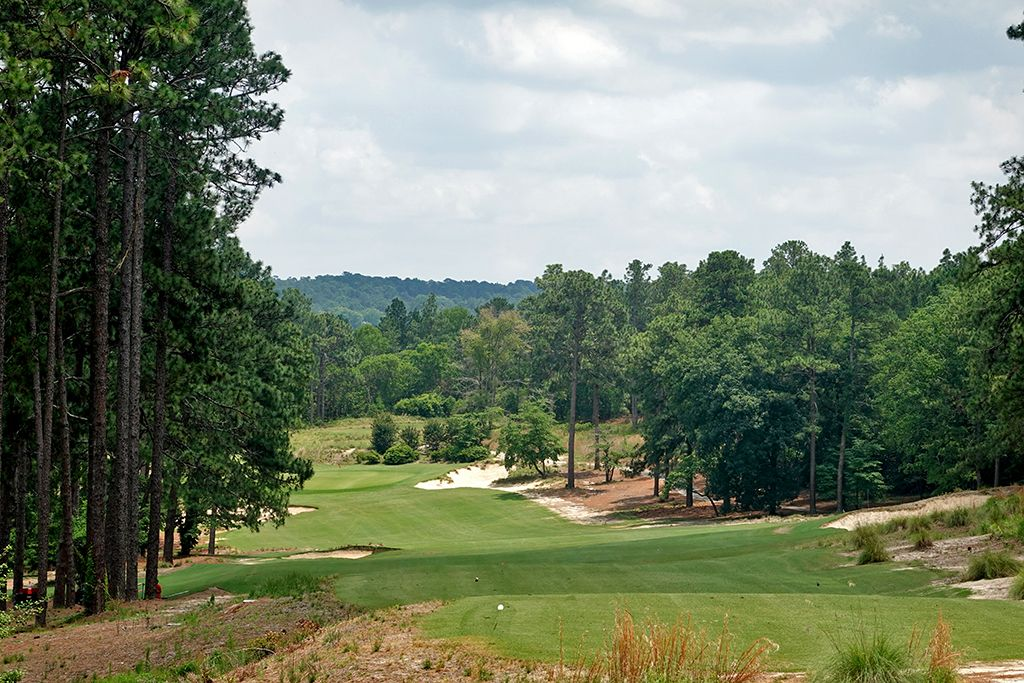 15th Hole at Mid Pines Golf Club (542 Yard Par 5)
