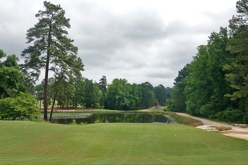 3rd Hole at Mid Pines Golf Club (437 Yard Par 4)