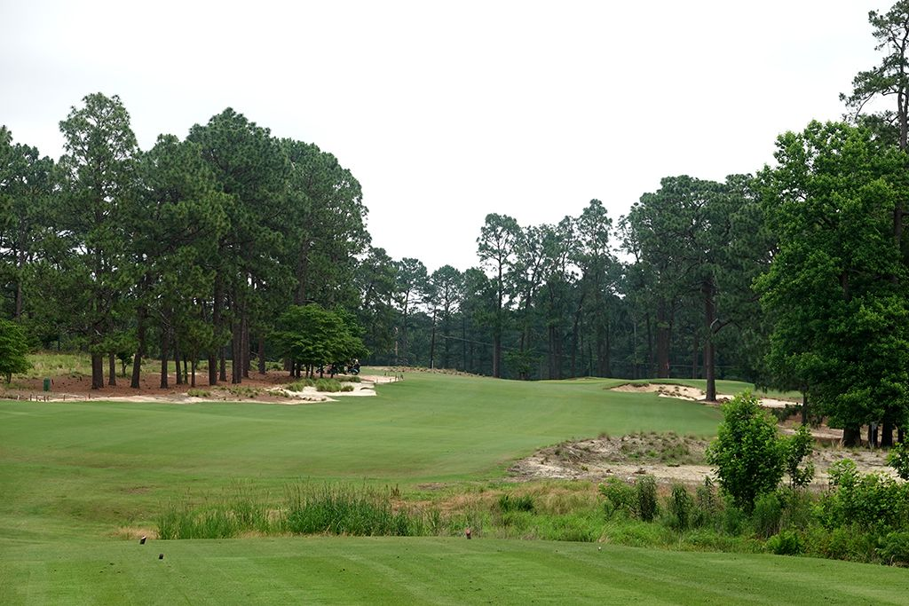 4th Hole at Mid Pines Golf Club (330 Yard Par 4)