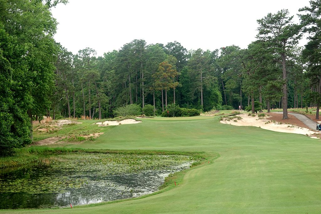 5th Hole at Mid Pines Golf Club (484 Yard Par 5)