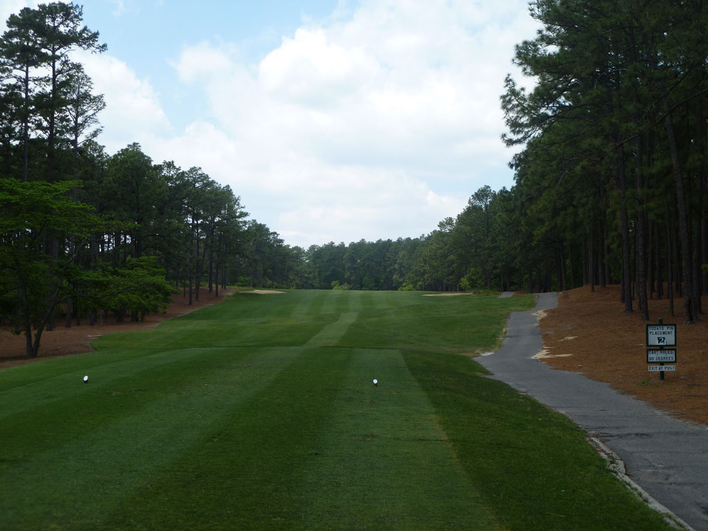 10th Hole at Mid Pines Golf Club (514 Yard Par 5)