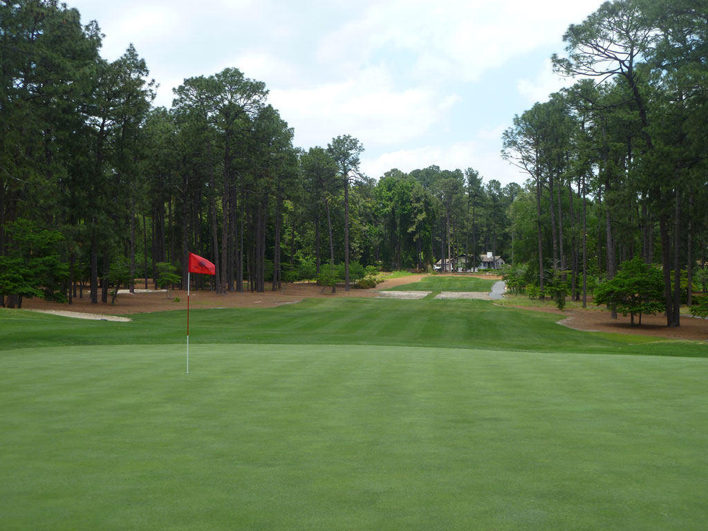 13th Hole at Mid Pines Golf Club (223 Yard Par 3)