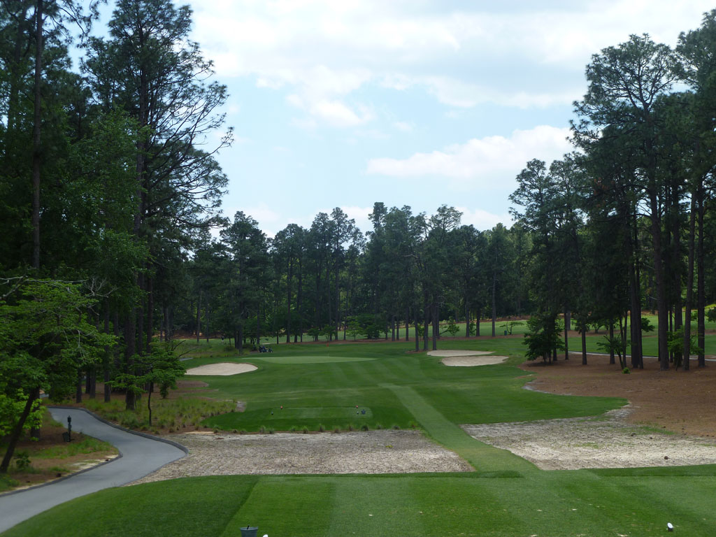 13th Hole at Mid Pines (223 Yard Par 3)
