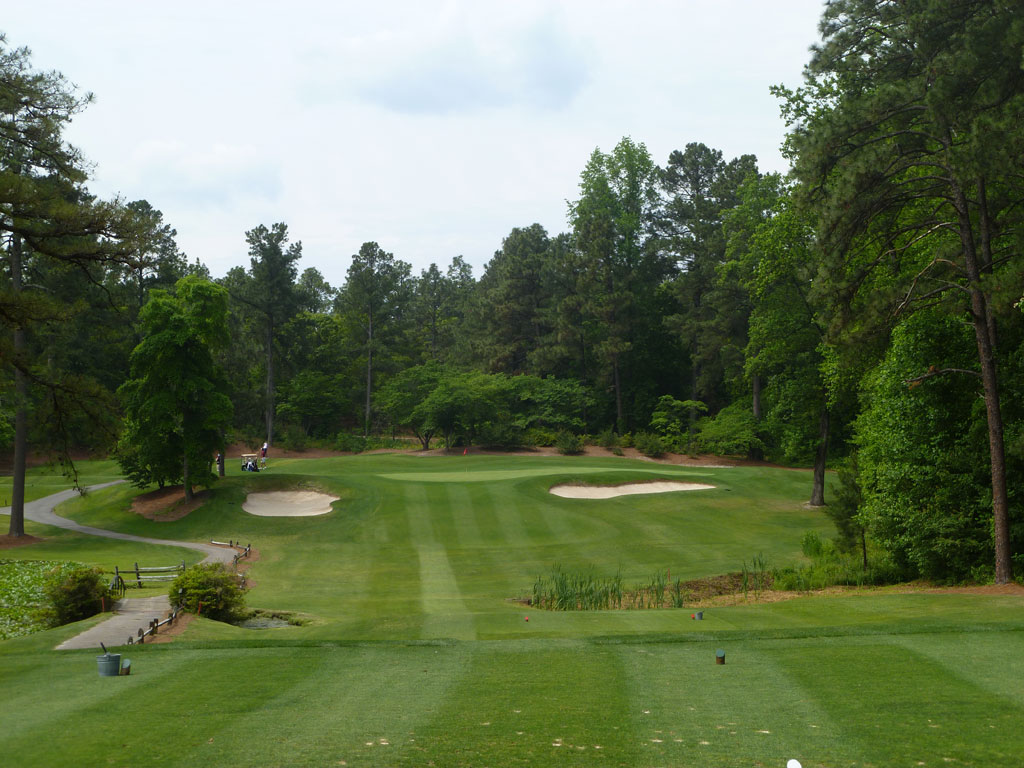 2nd Hole at Mid Pines (178 Yard Par 3)