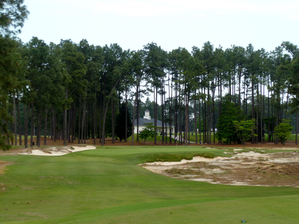 17th Hole at Pinehurst Resort No.2 (208 Yard Par 3)