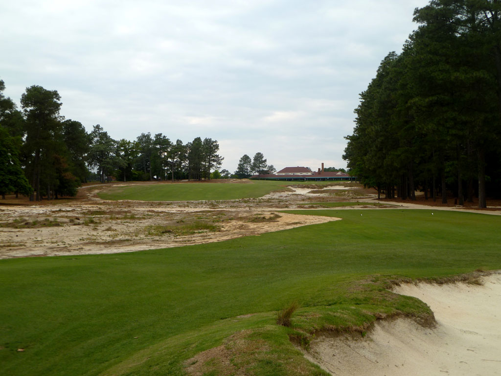 18th Hole at Pinehurst Resort No.2 (453 Yard Par 4)