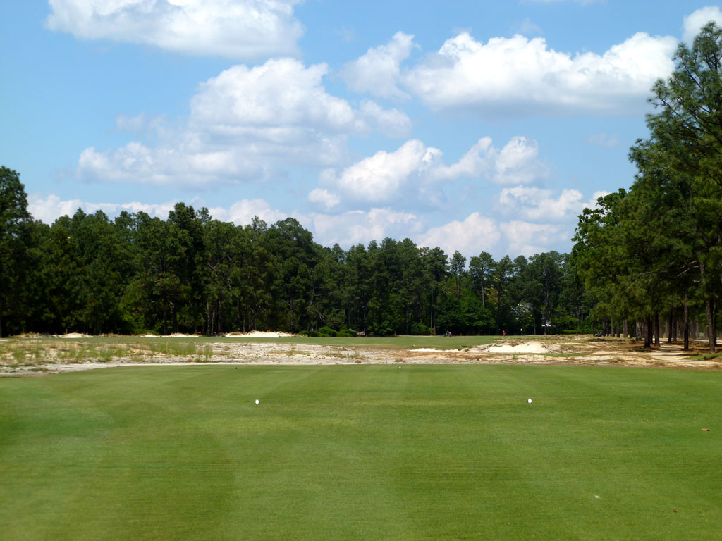 2nd Hole at Pinehurst Resort No.2 (503 Yard Par 4)
