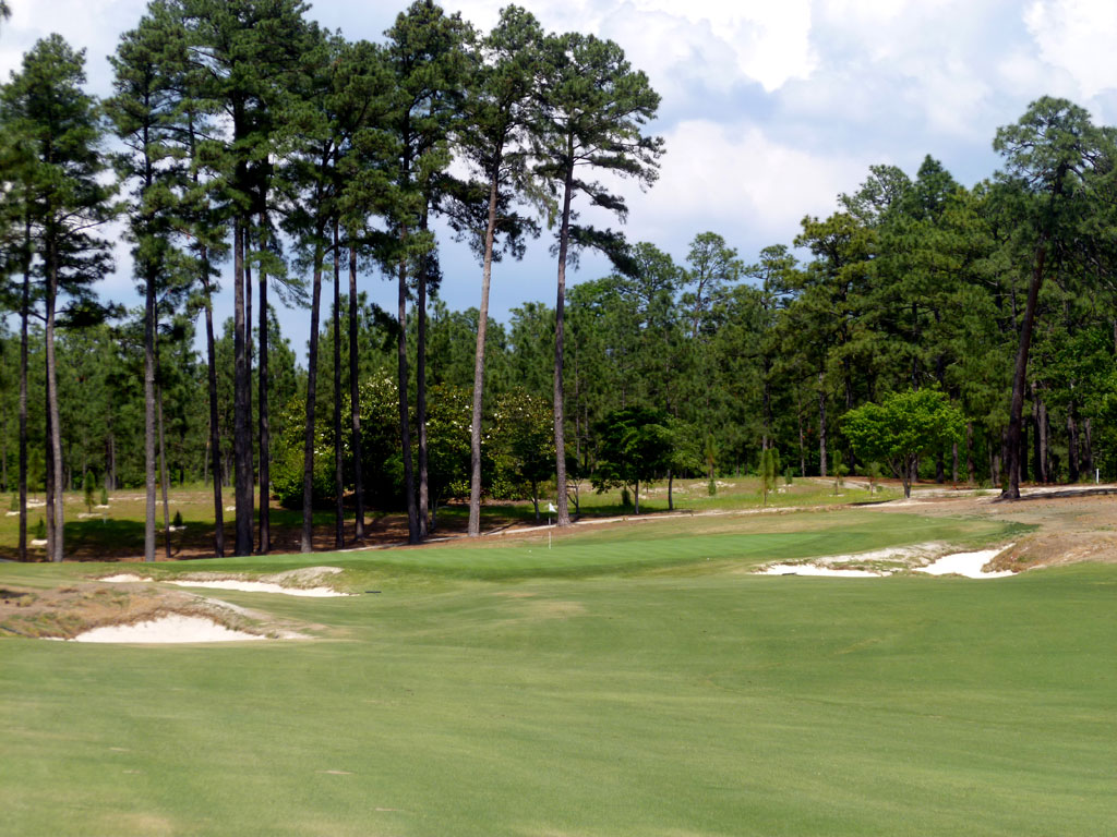 4th Hole at Pinehurst Resort No.2 (569 Yard Par 5)