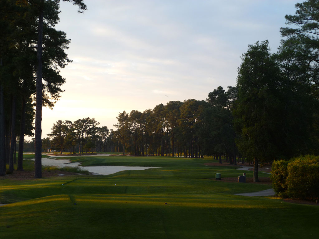 18th Hole at Pinehurst Resort No.4 (456 Yard Par 4)