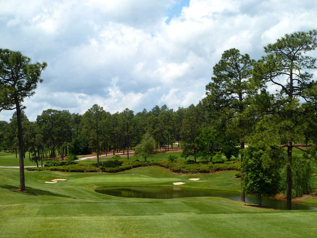 4th Hole at Pinehurst Resort No.4 (197 Yard Par 3)