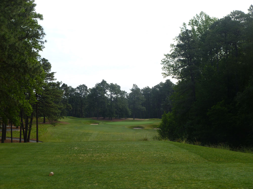 5th Hole at Pine Needles Golf Course (218 Yard Par 3)