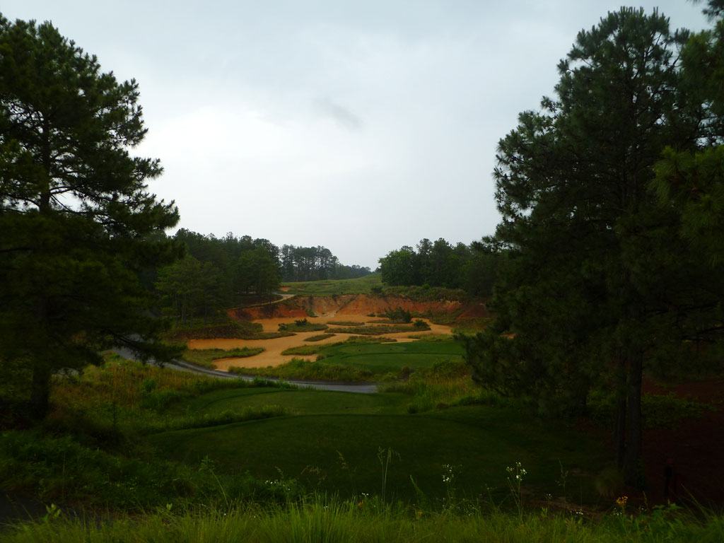 18th Hole at Tobacco Road (432 Yard Par 4)