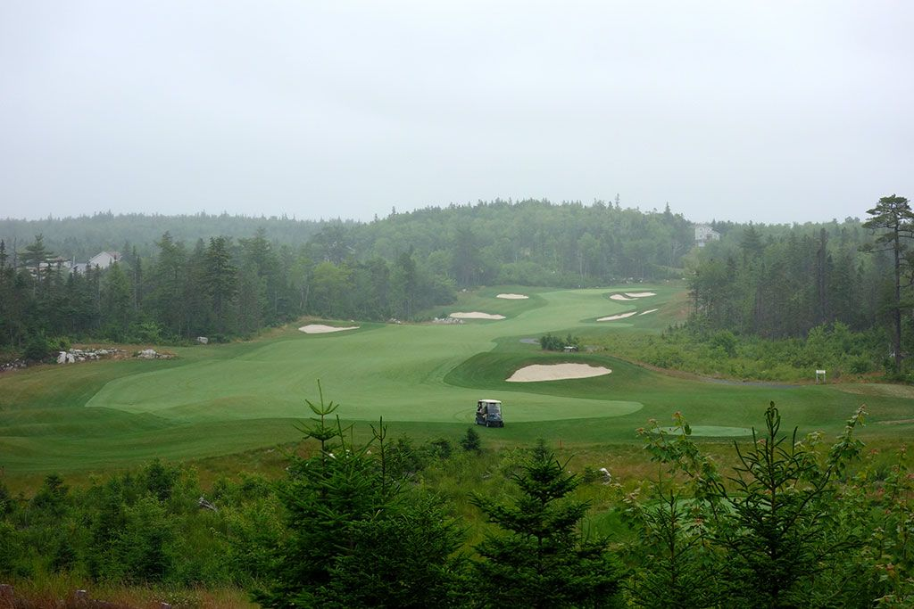 3rd Hole at Brunello, The Links at  (606 Yard Par 5)