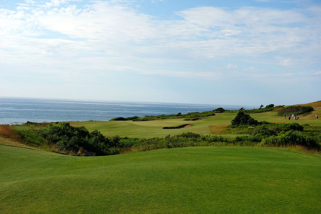 12th Hole at Cabot Cliffs (245 Yard Par 3)