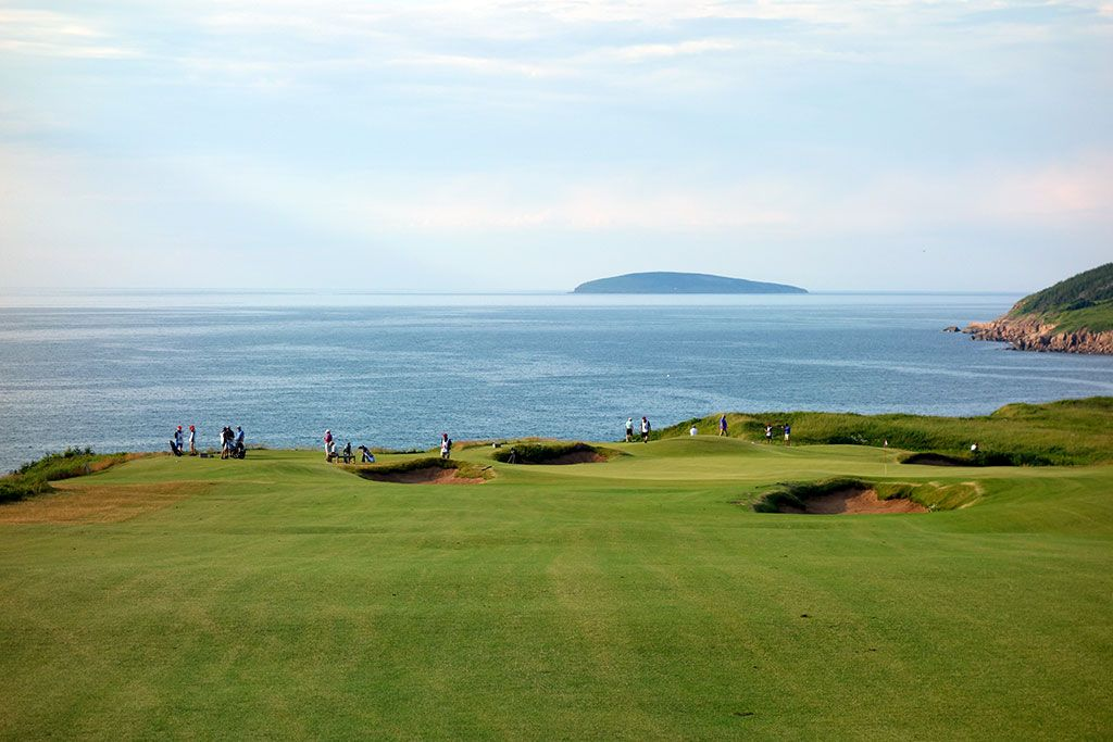 15th Hole at Cabot Cliffs (560 Yard Par 5)