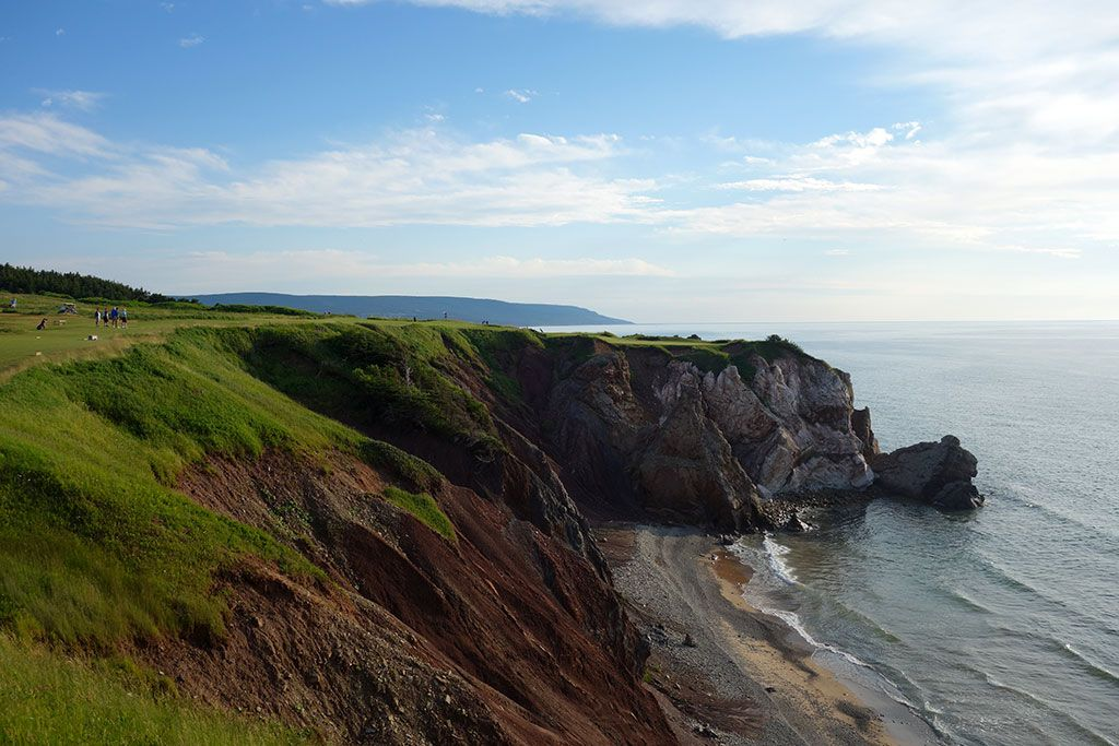 16th Hole at Cabot Cliffs
