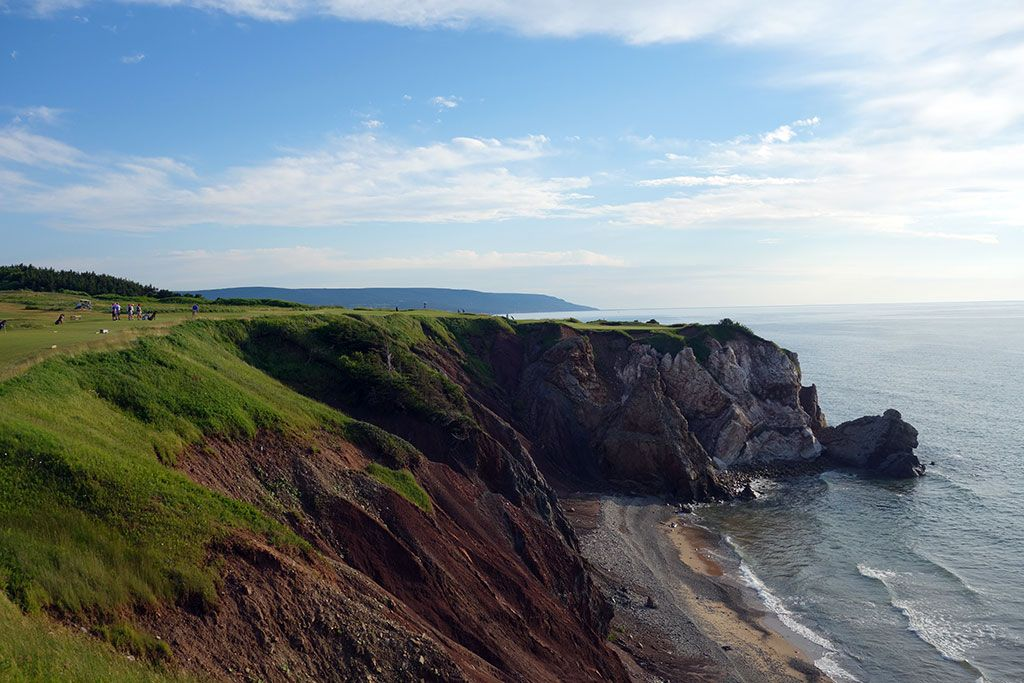 16th Hole at Cabot Cliffs (176 Yard Par 3)