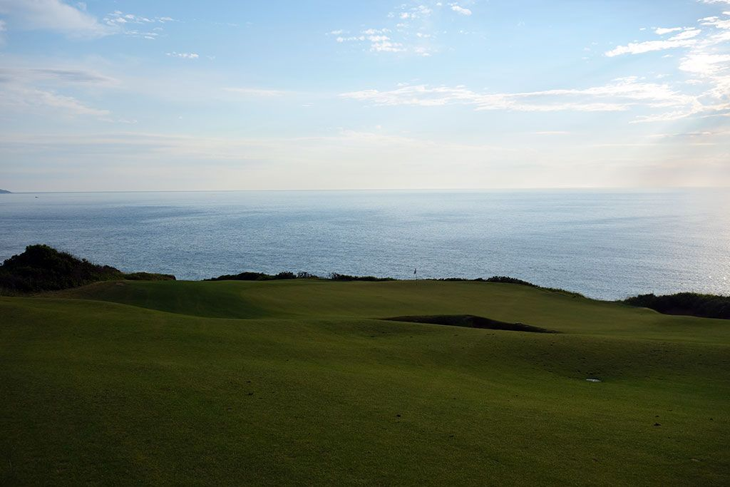 17th Hole at Cabot Cliffs (331 Yard Par 4)