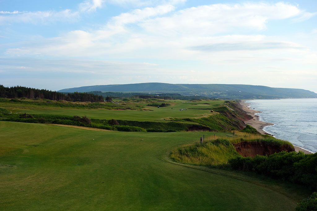 18th Hole at Cabot Cliffs (532 Yard Par 5)