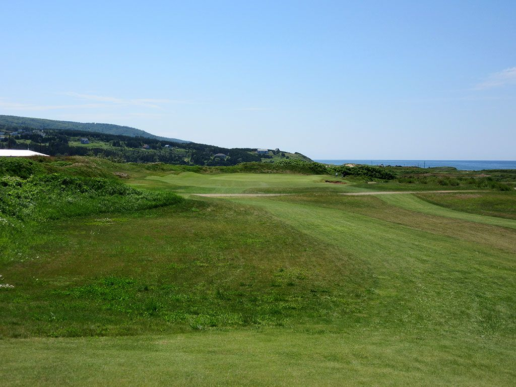 2nd Hole at Cabot Links (247 Yard Par 3)