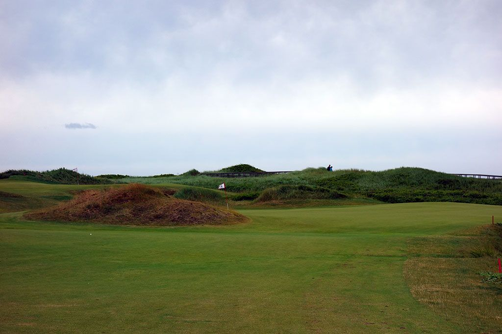 3rd Hole at Cabot Links (330 Yard Par 4)