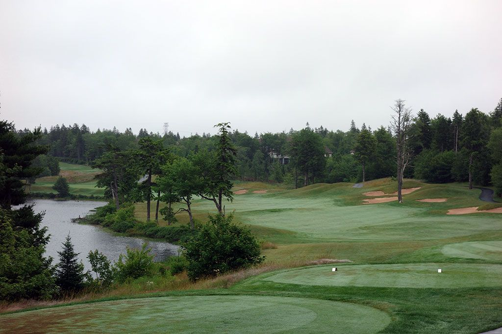 14th Hole at Glen Arbour Golf Club (504 Yard Par 5)