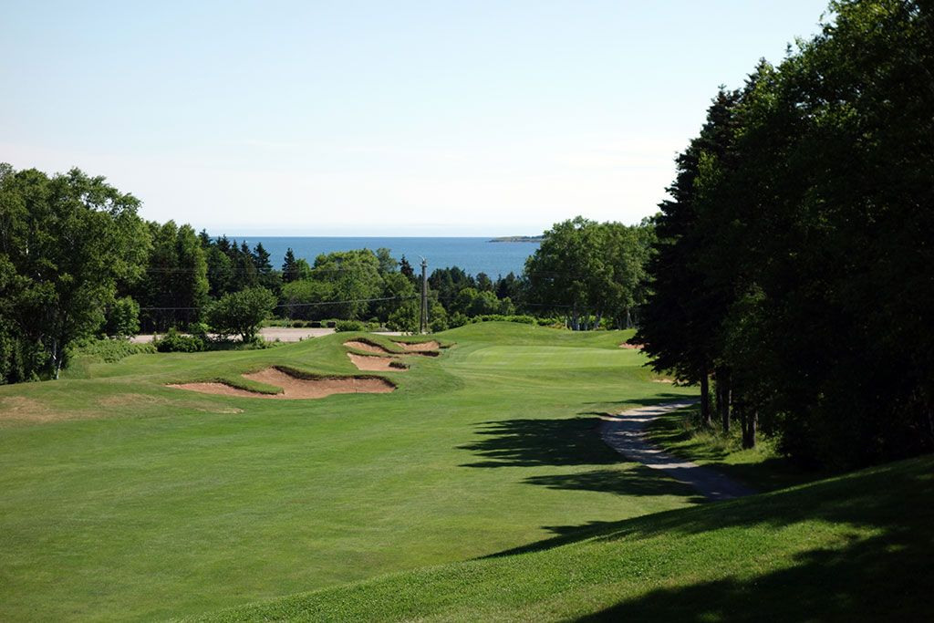 15th Hole at Highlands Links at Cape Breton (540 Yard Par 5)