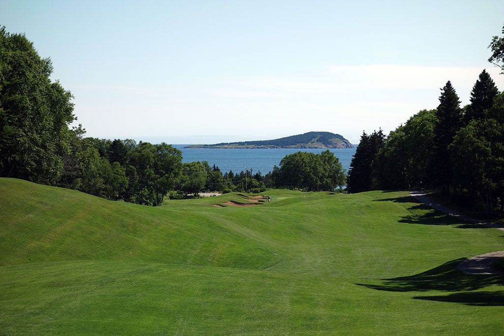 15th Hole at Cape Breton Highlands Links (540 Yard Par 5)