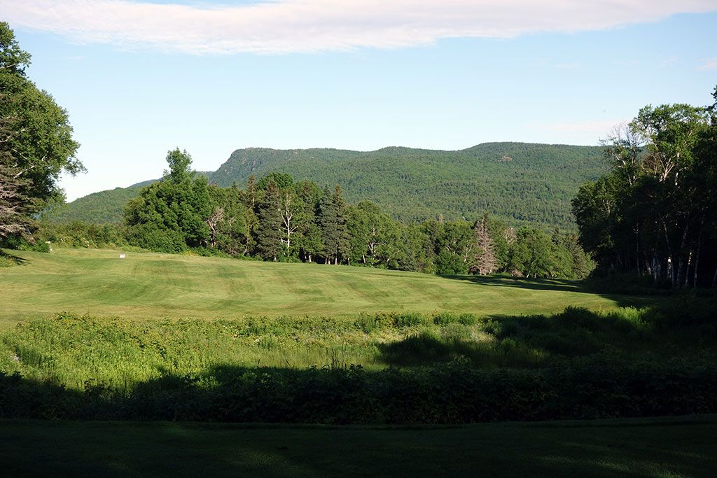 2nd Hole at Highlands Links at Cape Breton (447 Yard Par 4)
