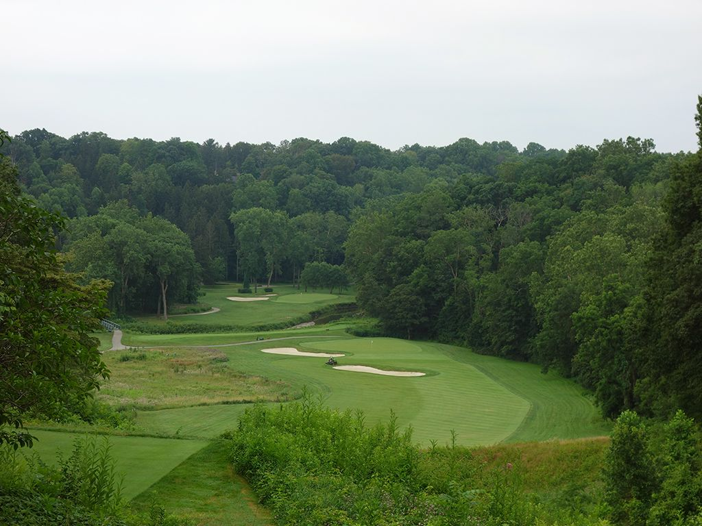 10th Hole at Kirtland Country Club (515 Yard Par 4)