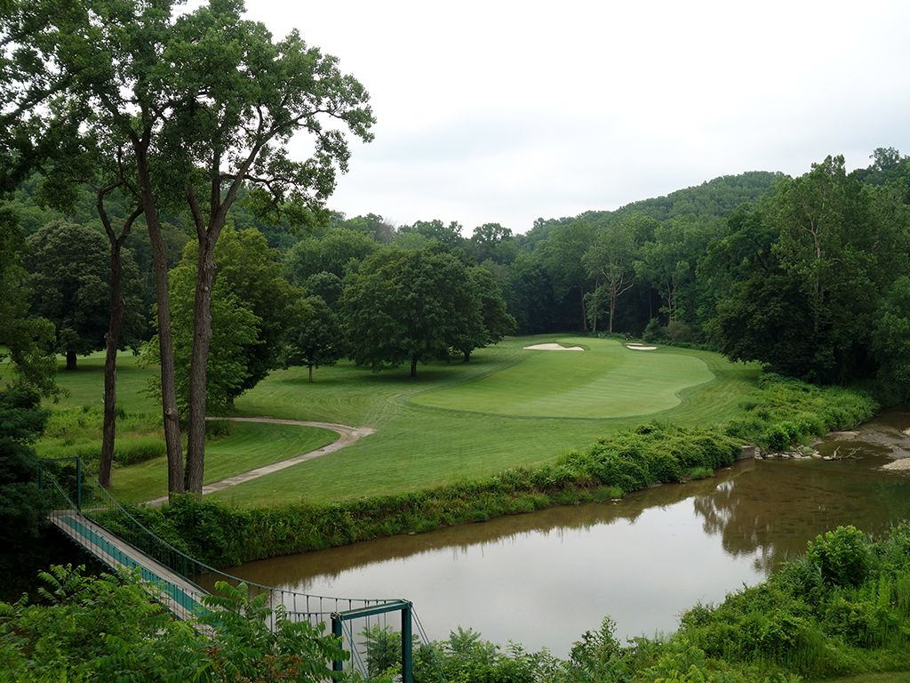 13th Hole at Kirtland Country Club, The (371 Yard Par 4)