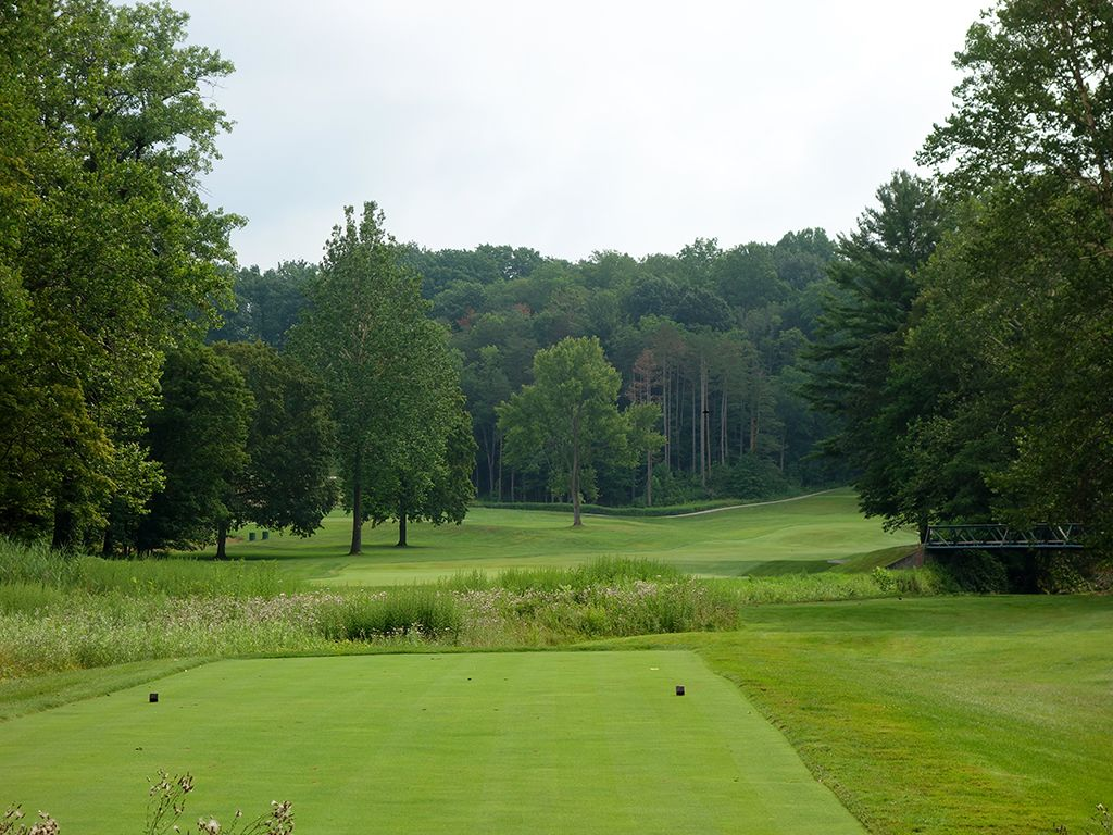15th Hole at Kirtland Country Club (537 Yard Par 5)