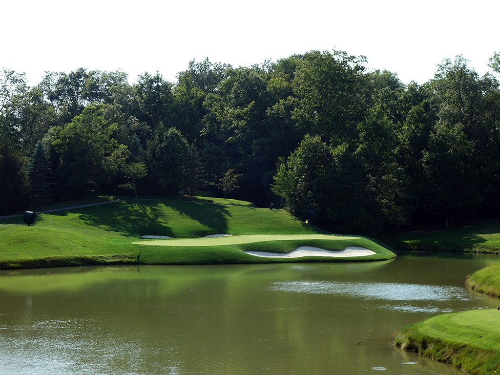 12th Hole at Muirfield Village Golf Club (184 Yard Par 3)